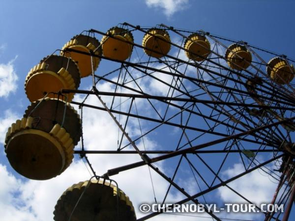 Чёртово колесо в Припяти