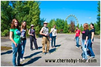 Трех-, четырех- семидневные поездки в Чернобыльскую зону, Припять